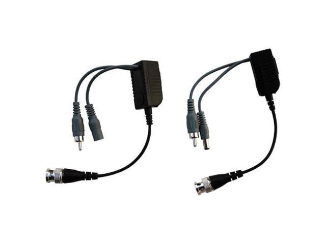 Channel Vision Cat5 Camera Balun, Video, Audio & Power (B-300)