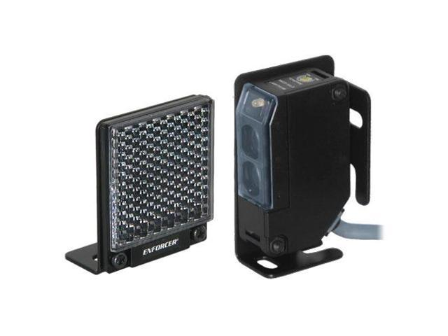 Seco-Larm Enforcer Reflective Beam Sensor with Square Reflector, 35 Ft. (E-931-S35RRQ)