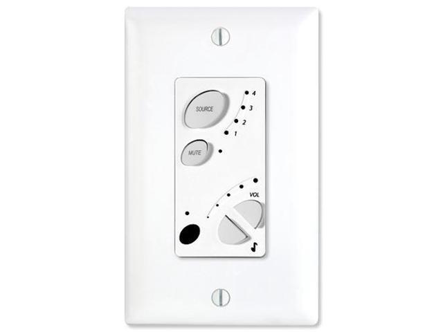 On-Q/Legrand lyriQ Amplified Keypad (Classic), White (AU7394-WH)