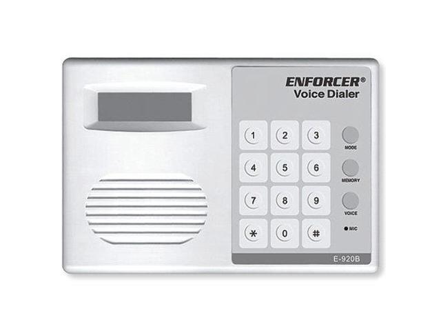 Seco-Larm Enforcer Automatic Voice Dialer, 2 Messages (E-920B)