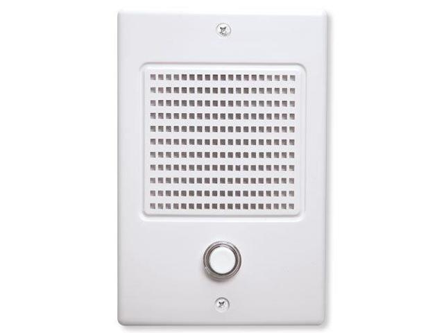 NuTone NM Intercom Door Speaker, White (NDB300WH)