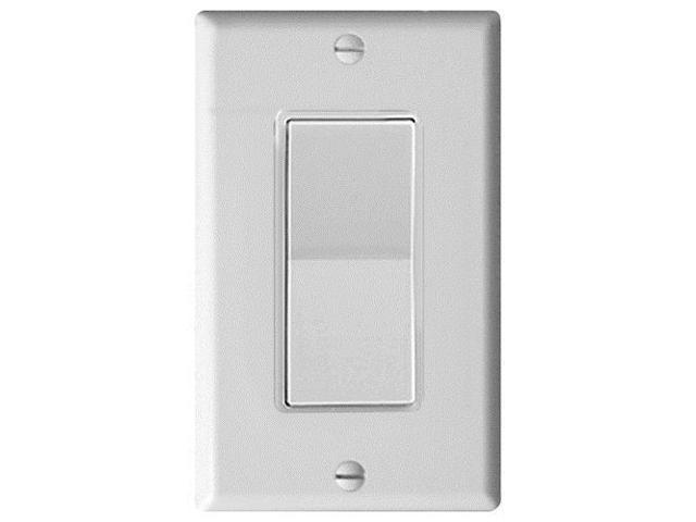 Leviton Decora Plus Wall Switch for Window Motors, Momentary Contact, White (5657-2W)