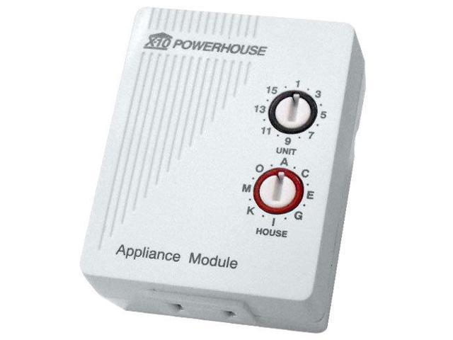 X10 Plug-In Appliance Module, 2 Prong (AM486)
