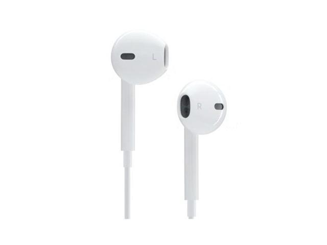 Apple MD827LL/A OEM EarPods Headset with Remote and Mic (White)
