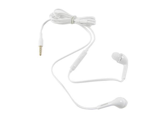 New OEM Samsung WHT Earphones Headphones Headset with Remote and Mic For Samsung Intrepid, Instinct HD, Freeform, Code, Messager ...