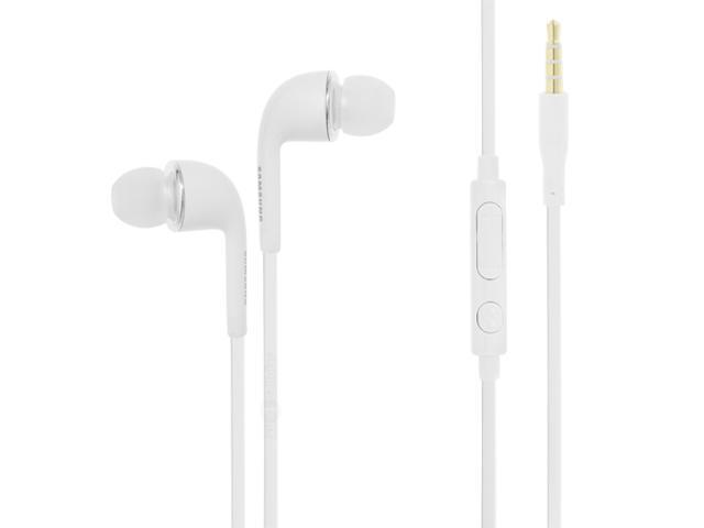 New OEM Samsung WHT Earphones Headphone Headset with Remote and Mic For Samsung Haven, Captivate, Vibrant, Intercept, Acclaim, ...