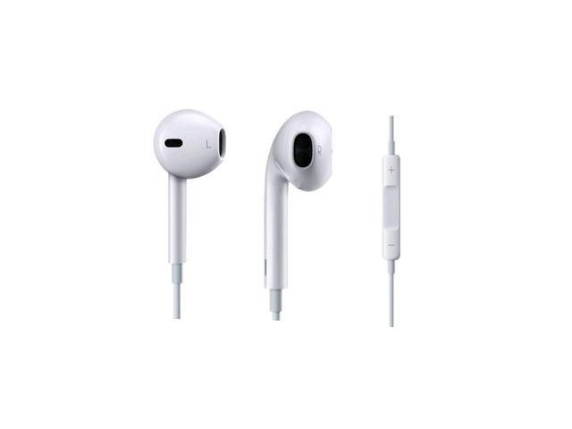 Used Origianl OEM Apple EarPods with Remote and Mic for iPhone 3GS / 4 / 4s / 5 / 5s / 5c , iPad 2 / 3 / 4 / Mini / Mini w/ Retina Display / Air , iPod Classic / Nano / Shuffle / Touch - In Bulk