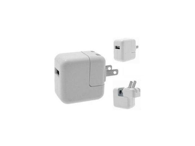Apple iPad 10 Watt USB Power Charger Adapter For iPad, iPod 1G, 2G, 5G; iPod Classic; iPod Mini, iPhone