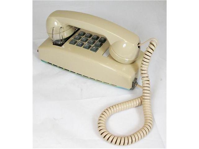 ITT 2554-ASH27M Cortelco Traditional Mini Wall Phone