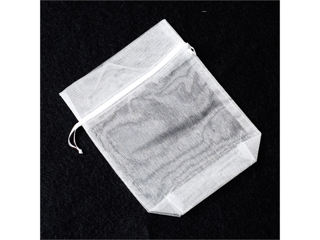 12pcs Organza Party Favor Bags or Pouches 5 x 7 inches - Color: White