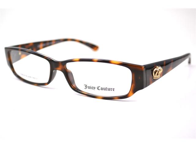 Juicy Couture Drama Queen Eyeglasses-In Color-Dark Havana-Size-53/13/135