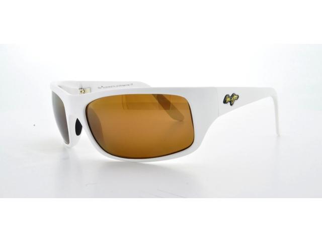 MAUI JIM Sunglasses PEAHI H202-05M Matte White 66MM