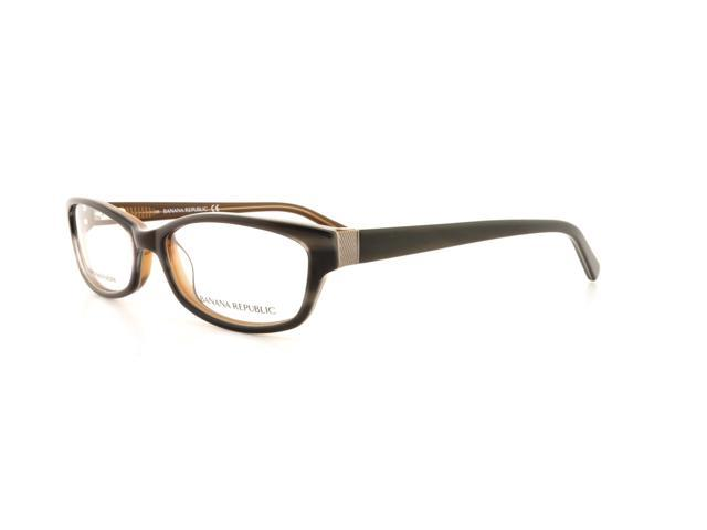 Banana Republic Eyeglass Frames Parts : BANANA REPUBLIC Eyeglasses JASLYN 0CW3 Brown Sparkle 51MM ...