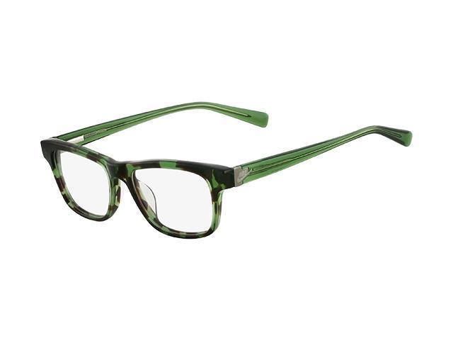 NIKE Eyeglasses TB157 316 Green Tortoise 46MM