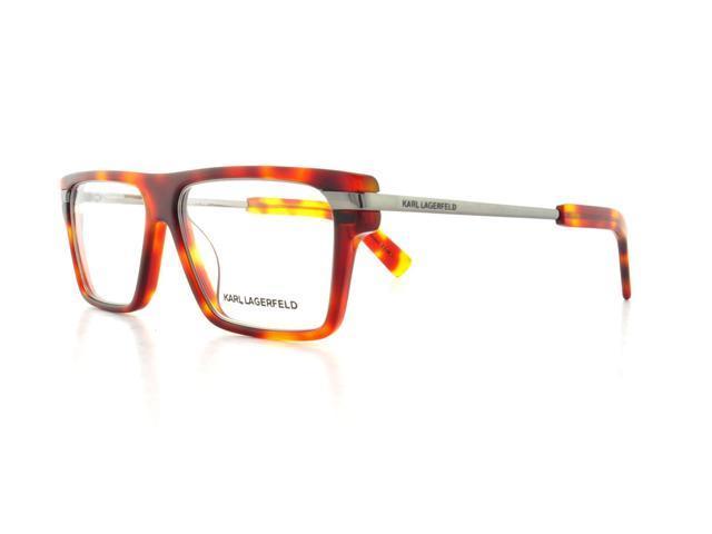Glasses Frames Karl Lagerfeld : KARL LAGERFELD Eyeglasses KL797 090 Blonde Havana 53MM ...