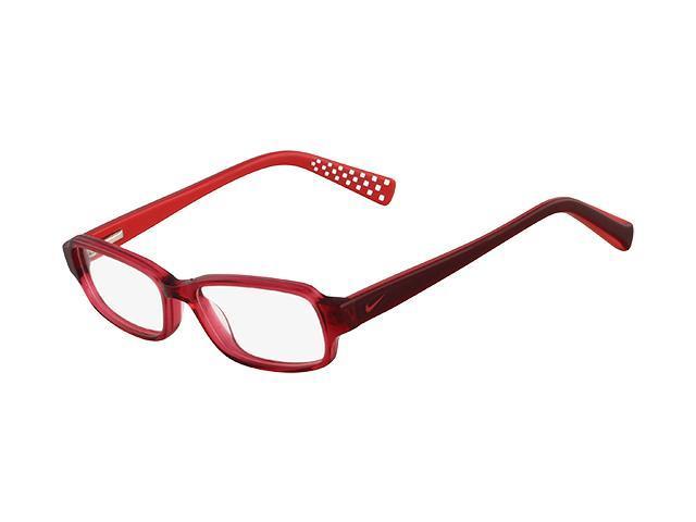 NIKE Eyeglasses 5508 610 Red Dark Red 48MM