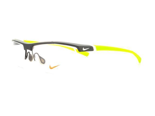 NIKE Eyeglasses 7071/1 070 Matte Dark Grey Volt 57MM