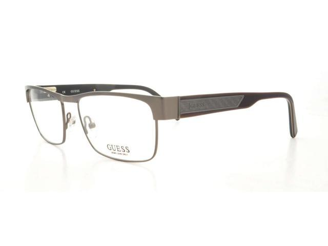 GUESS Eyeglasses GU 1739 Gunmetal Satin 54MM