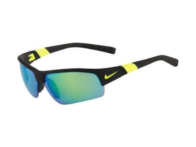 NIKE Sunglasses SHOW X2-XL R EV0808 050 Matte Black Violet  69MM