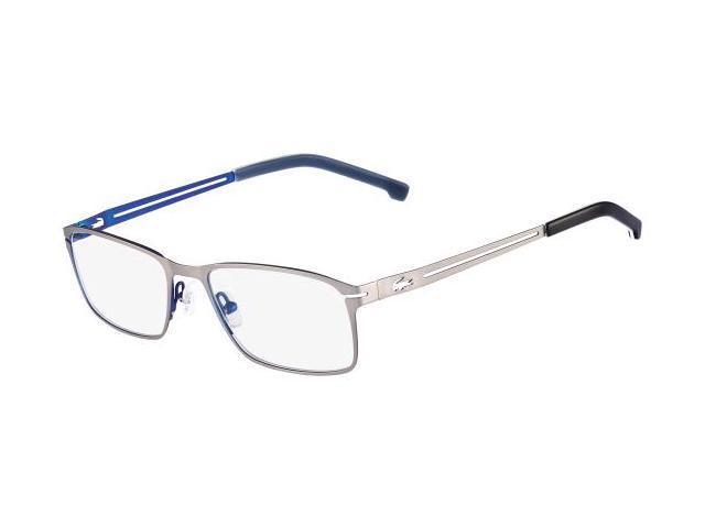 LACOSTE Eyeglasses L2167 045 Satin Silver 53MM