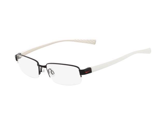 nike eyeglasses 8090 010 shiny black 50mm newegg