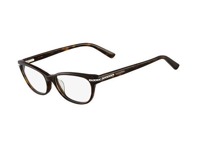 Valentino Optical Glasses 2015 : VALENTINO Eyeglasses V2646R 215 Dark Havana 51MM - Newegg.com