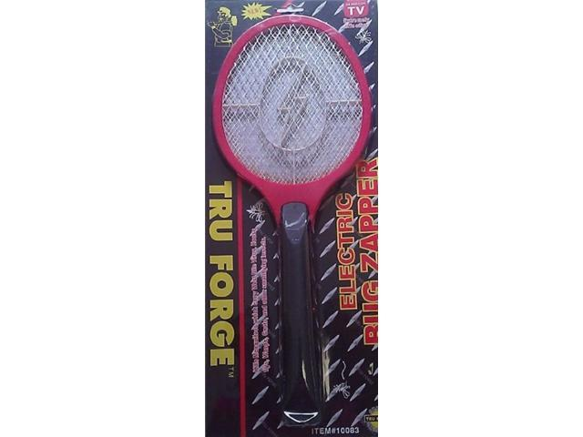 Tru Forge Electric Bug Zapper Racket (Assorted Colors)