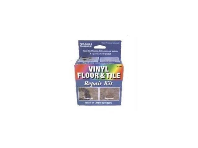 Liquid Leather Vinyl Floor and Tile Repair Kit - Dark Blue Box