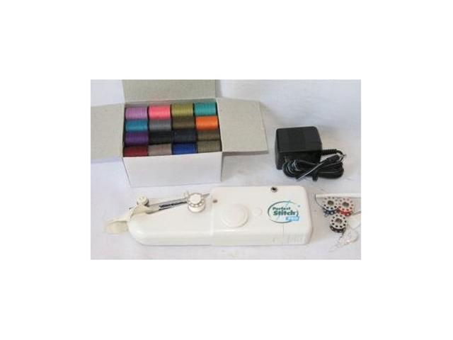 Perfect Stitch Pro Hand Held Sewing Machine with Bobbin Set