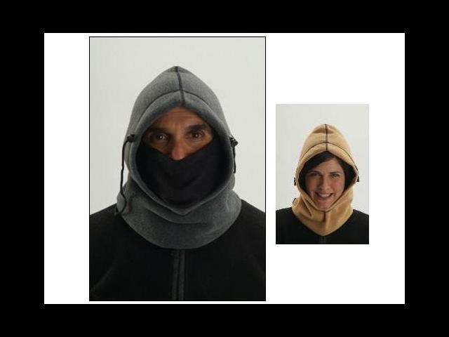 Hot Headz Hot Wavez Extreme Reversible 6 in 1 Fleece Hood
