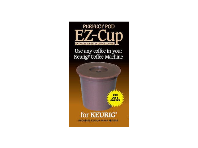 EZ-cup The K-cup Alternative That Is Easy To Use And Easy