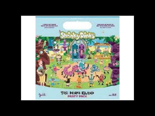 Shrinky Dinks Tiki Dinki Island Party Pack