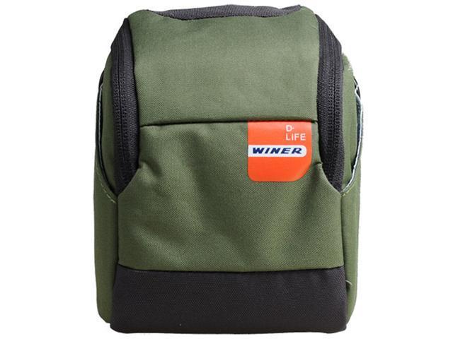 Winer Vita Big Size Camera Belt Case Bag S25 for Small DC M3/M4 System, Panasonic GF Series, Sony NEX Series, (S25-Green)