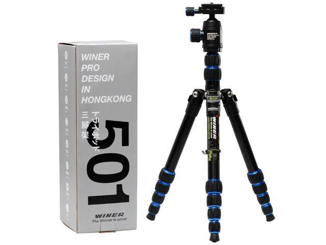 "53"" Travel Digital Camera Camcorder Tripod Stand for Canon/Nikon/Sony/Panasonic To Fit Binoculars, Camcorder, Camera, Spotting ..."