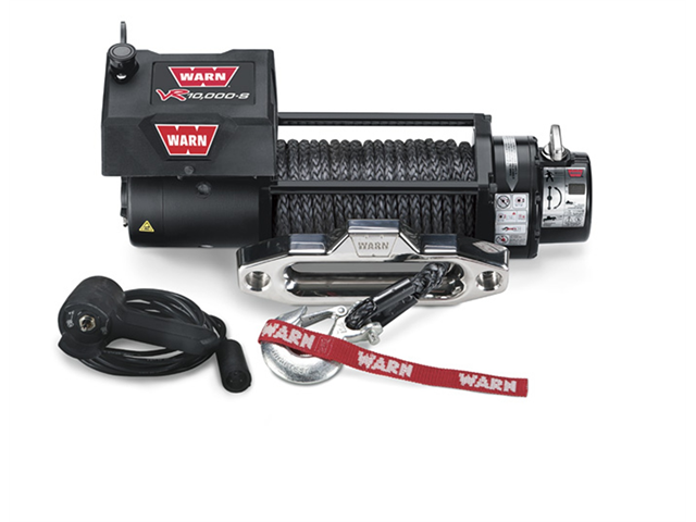 Warn 87840 VR10000-s Winch with Synthetic Rope