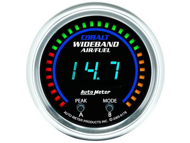 Auto Meter Cobalt Wide Band Air Fuel Ratio Kit
