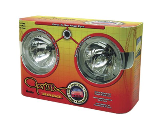 Hella Optilux Model 2500 Angel Eye Driving Lamp Kit