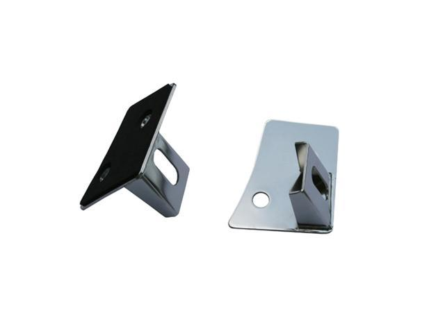 Rugged Ridge 11028.03 Windshield Light Brackets, Stainless Steel, 07-14 Jeep Wrangler
