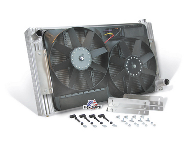 Flex-a-lite Flex-A-Fit Radiator And Fan Package