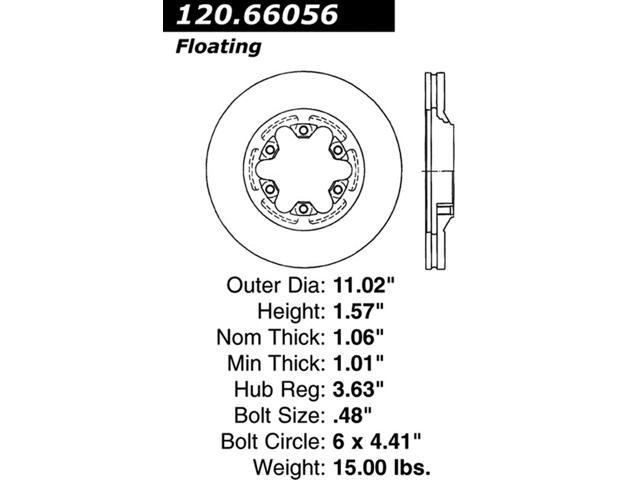 StopTech 126.66056SL StopTech Sport Rotors