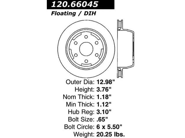 StopTech 126.66045SR StopTech Sport Rotors