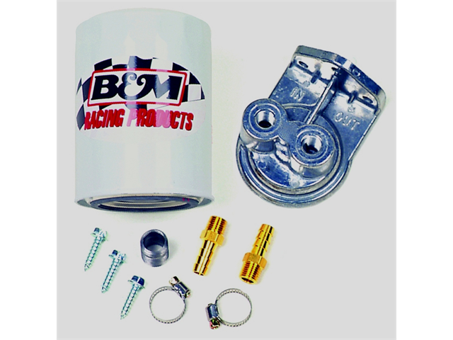 B&M 80277 Remote Filter Kit