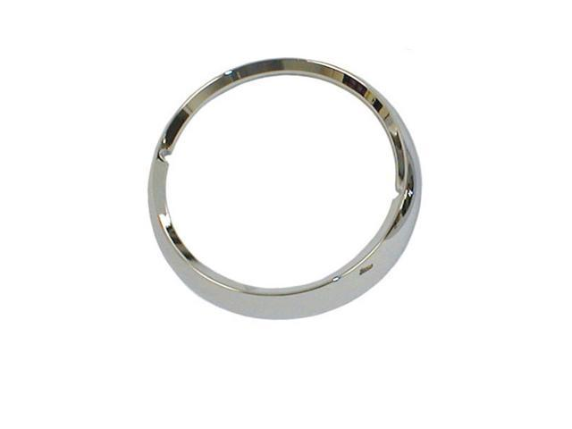 Omix-ada This chrome headlight bezel from Omix-ADA fits 72-86 Jeep CJ models. Sold individually. 12419.03