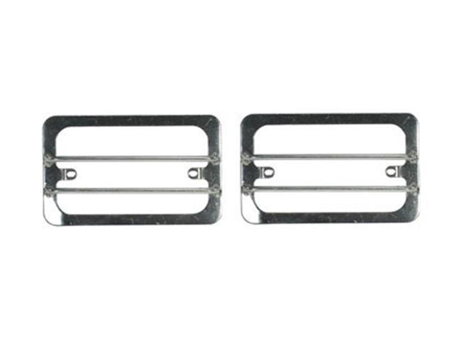 Rugged Ridge 11142.02 Euro Guard Set, Stainless Steel, 97-06 Jeep Wrangler