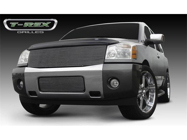 T-REX 2004-2012 Nissan Titan (04-07 Armada) Billet Grille Insert - 1 Pc (Replaces Grille Shell) (22 Bars) POLISHED 20780