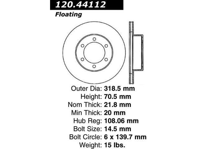 StopTech 126.44112SR StopTech Sport Rotors Fits 95-04 4Runner Tacoma