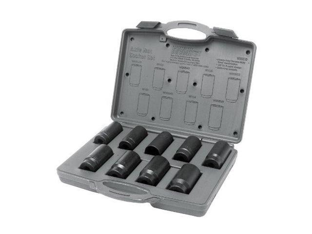 Wilmar W89318 Axle Nut Socket Set, 9-Piece