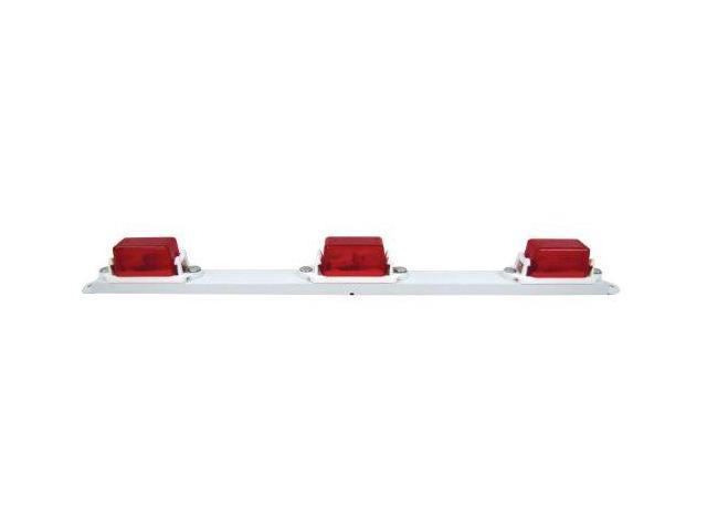 Peterson Manufacturing 107-3R Red Mini Light Bar