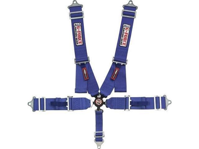G-Force 7000Bu Indivd. Shoulder Harness Pull-Down C/L Pro Series