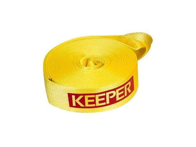 Keeper 02923 Vehicle Recovery Strap With Loops 2